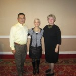 Dr. Frank Montoya and Dr. Dianna Montoya with Karen