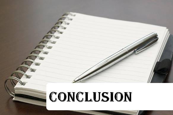 how to give conclusion in presentation